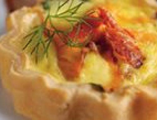 Smoked Salmon & Watercress Tarts
