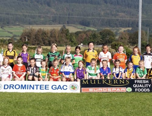Dromintee GAC U8 & U10 Girls Football Blitz