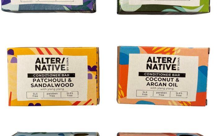 Alter/Native Shampoo Conditioner and Soap Bars