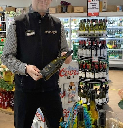 Shane with Saint Clair Wine of the Week
