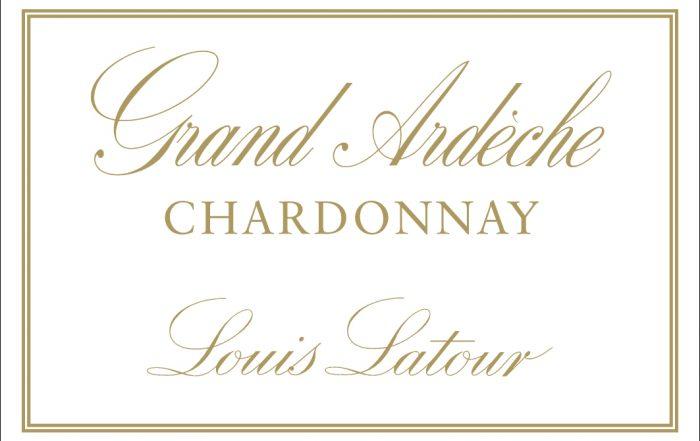 Grand Ardeche Chardonnay Label