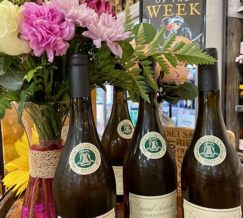 Wine of the Week Grand Ardeche pictured Instore at Mulkerns