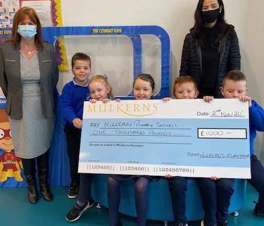 Killean PS Winners of the first prize of £1000