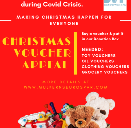 SVP Christmas Appeal At Mulkerns