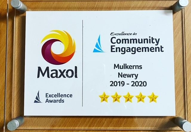 Maxol Excellence in Community Engagement Award