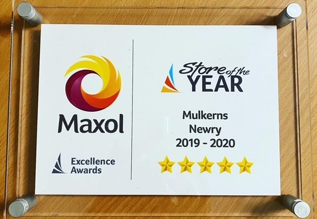 Maxol Store of the Year Award