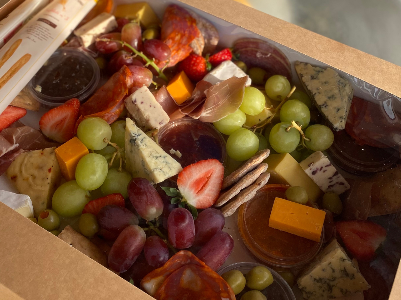 Large Cheese & Charcuterie Platter