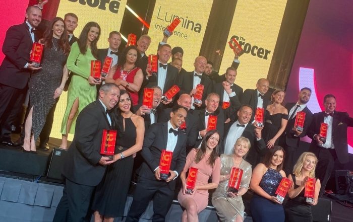 Award Winners on stage at The Convenience Awards 2021