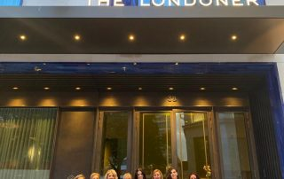 Team Mulkerns Awards Ready Outside The Londoner